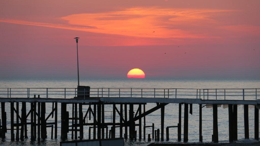 Abkhazia sunset