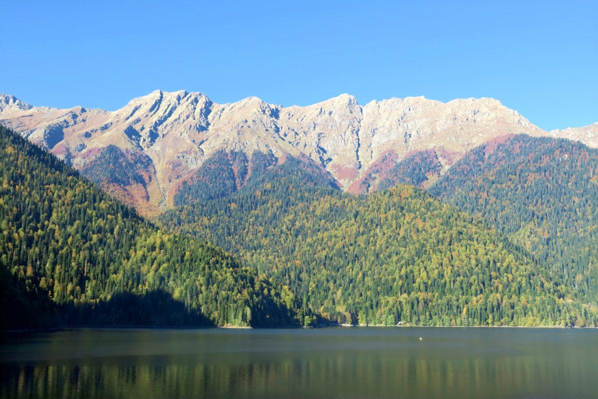 Abchazja_Jezioro Rica