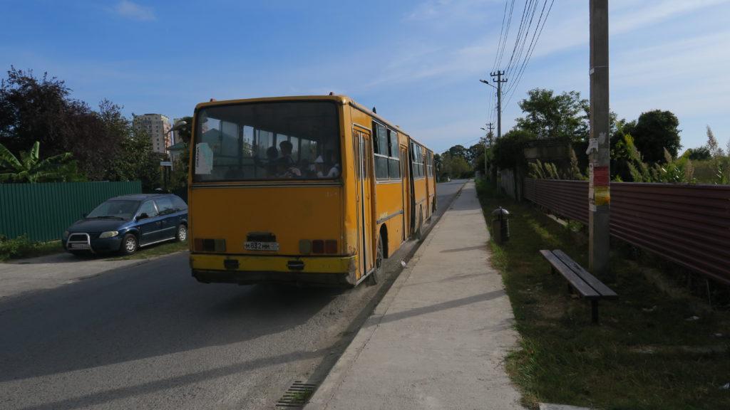 środki transportu Abchazja