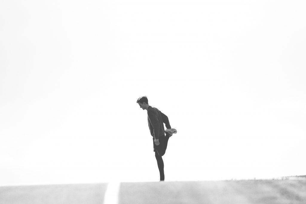 rozgrzewka przed biegiem