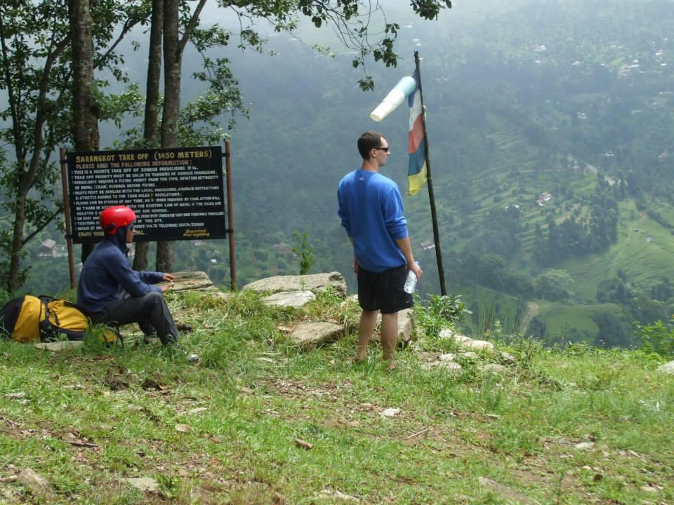 Paragliding w Himalajach