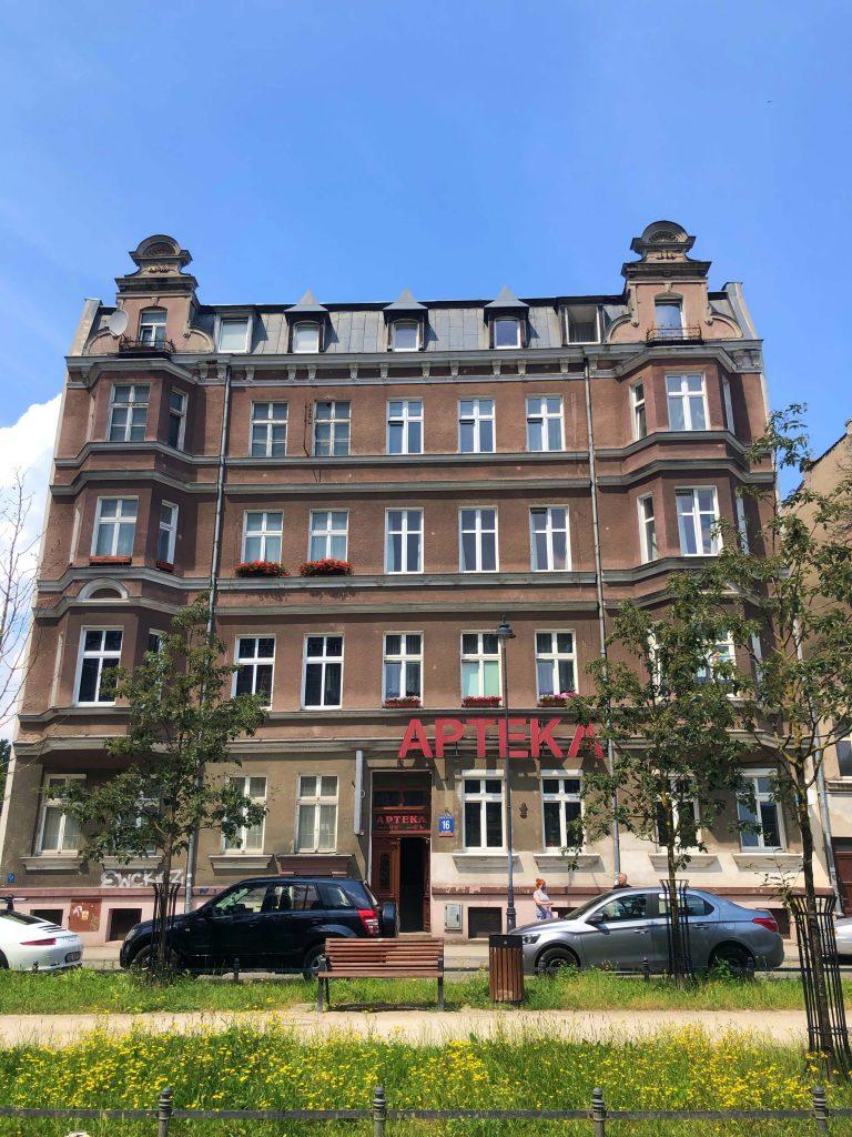 Ulica Łąkowa Gdańsk