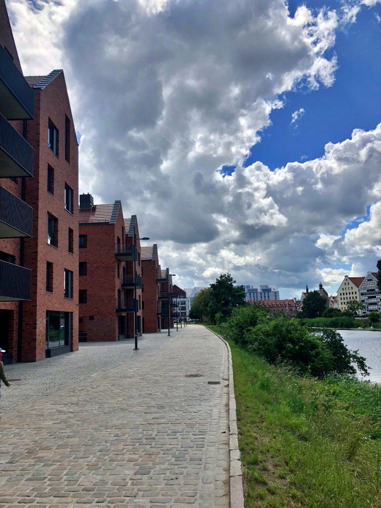 Nowa dzielnica Motława