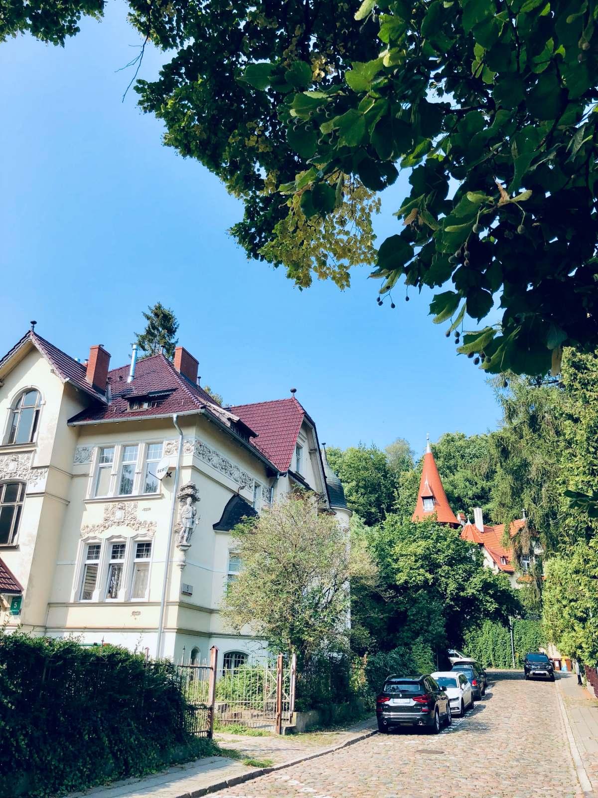 Willa na Jaśkowej Dolinie w Gdańsku