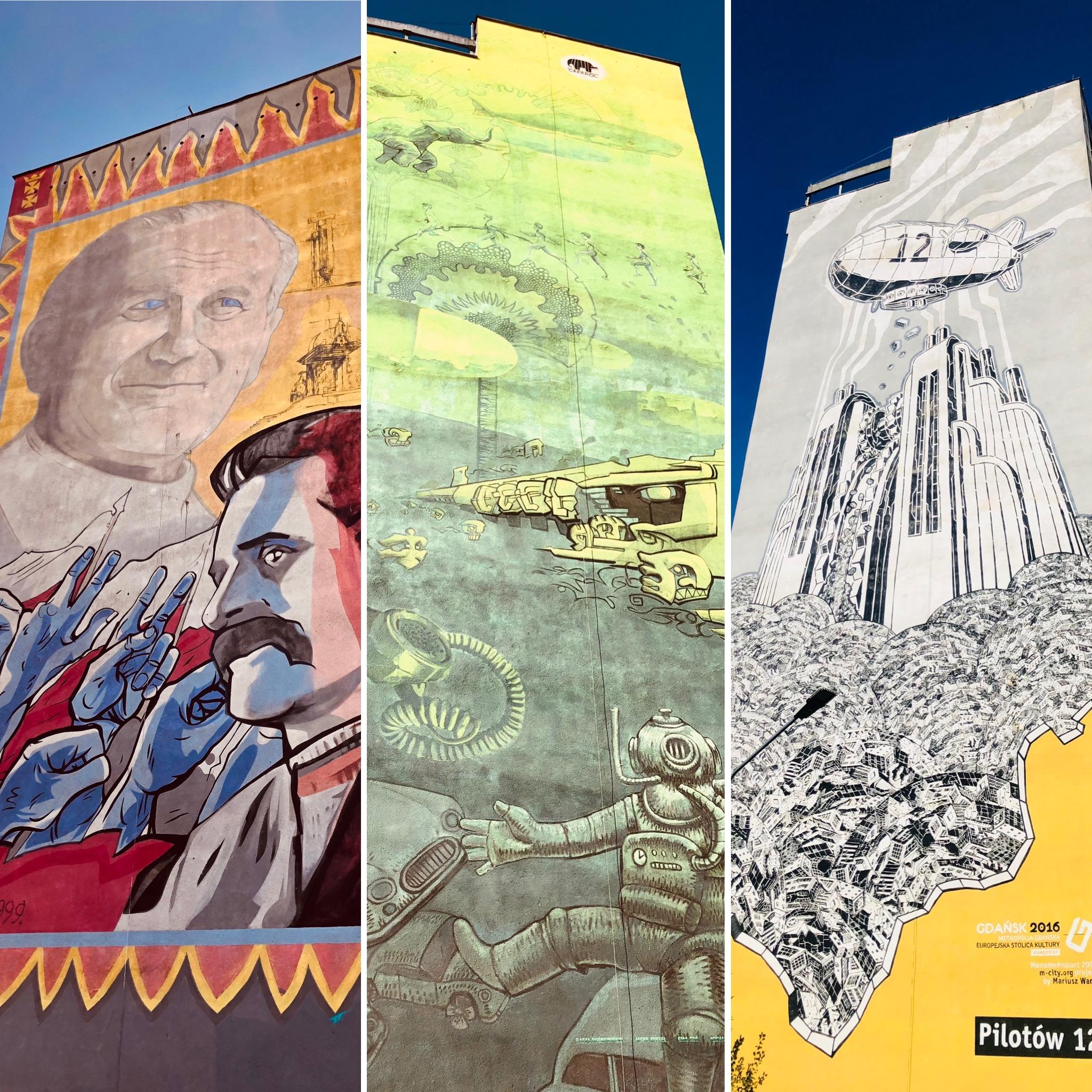 Murale Gdańsk