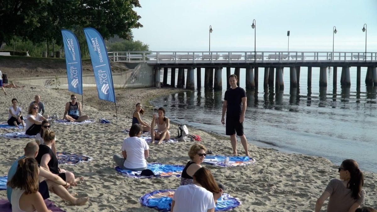 Warsztat oddechu na plaży